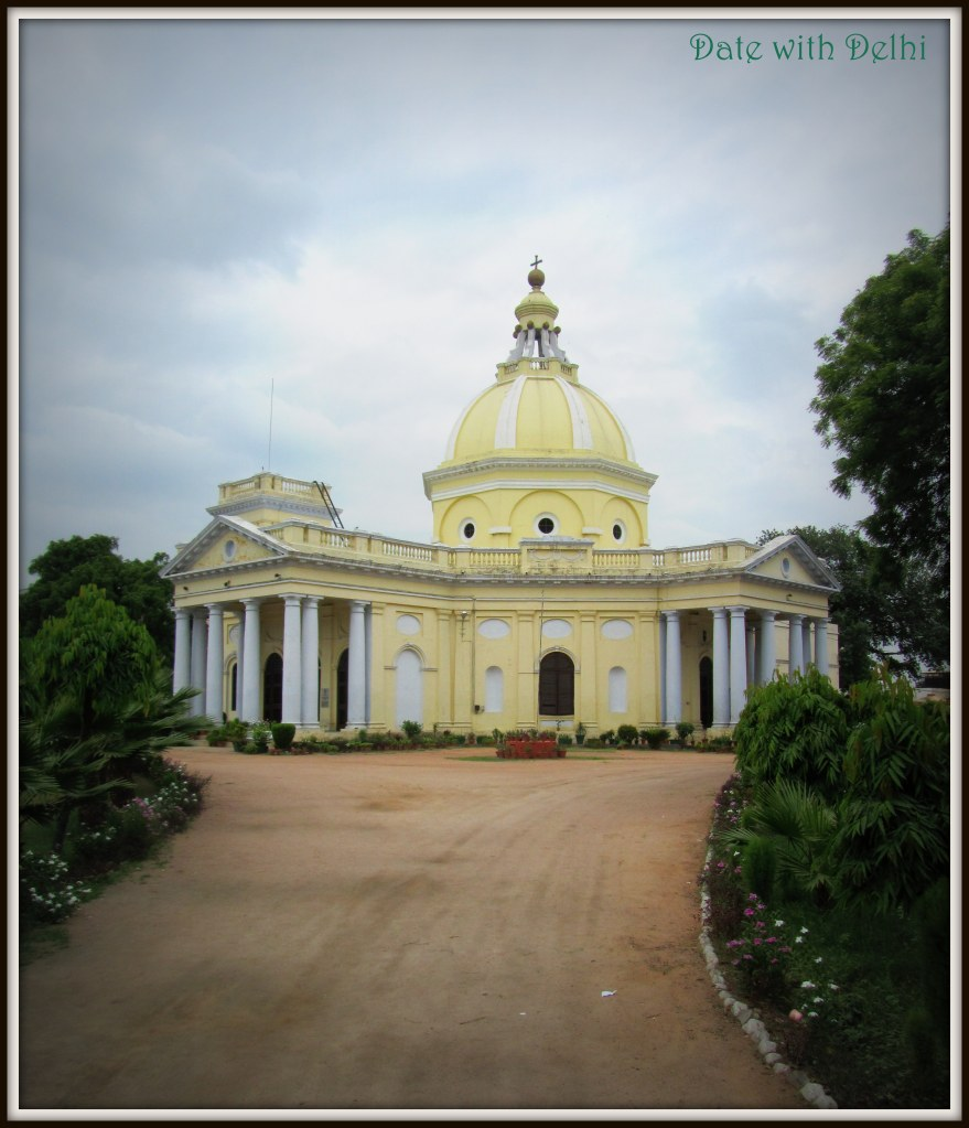 Old world charm! St James Church at Kashmiri Gate transports you to another world...